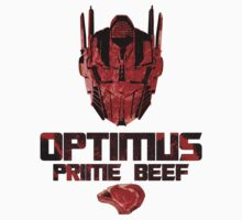 Optimus Prime Beef by sonicfan114