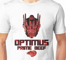 Optimus Prime Beef Unisex T-Shirt