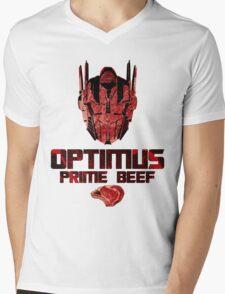 Optimus Prime Beef Mens V-Neck T-Shirt