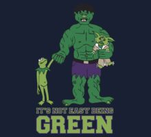 It's Not Easy Being Green Kids Clothes