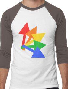 Rainbow arrows Men's Baseball ¾ T-Shirt