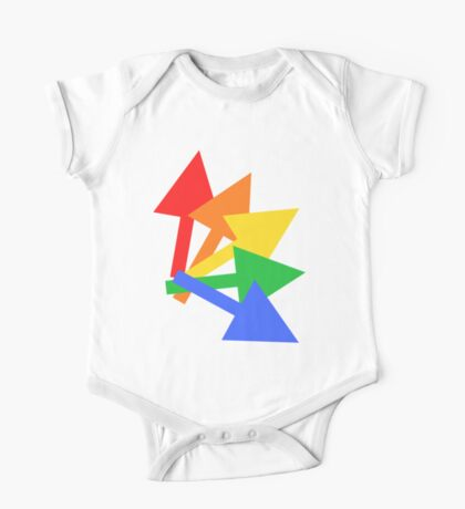 Rainbow arrows One Piece - Short Sleeve