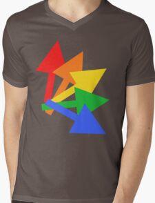 Rainbow arrows Mens V-Neck T-Shirt