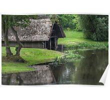 River Avon Boathouse Poster