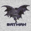 Batman Typography by Kuilz