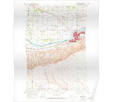 USGS Topo Map Washington State WA Prosser 243297 1965 24000 Poster