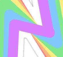 Zig Zazzles Sticker