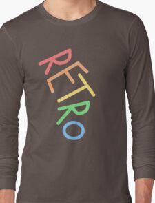 Retro! Long Sleeve T-Shirt