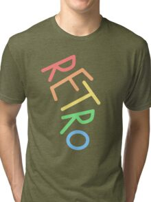 Retro! Tri-blend T-Shirt