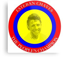 ESTEBAN CHAVES THE PEOPLE'S CHAMPION Metal Print