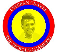 ESTEBAN CHAVES THE PEOPLE'S CHAMPION Photographic Print