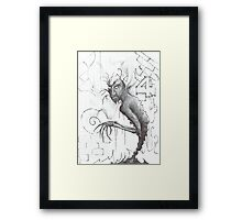Bones and Branches Framed Print