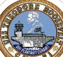 USS Theodore Roosevelt (CVN-71) Crest Sticker