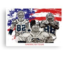 Americas TEam Canvas Print