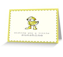 Vintage Collection - Duck Greeting Card