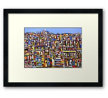 Urban Strata Framed Print