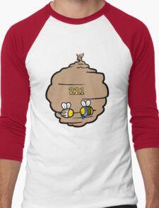 221 Bee Baker Street Men's Baseball ¾ T-Shirt