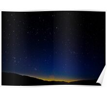 Seven Sisters - Death Valley National Park, California Poster