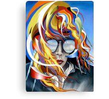 Venus Psychedelia Canvas Print