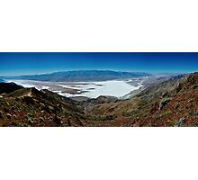 Dantes View Panorama - Death Valley National Park, California Photographic Print