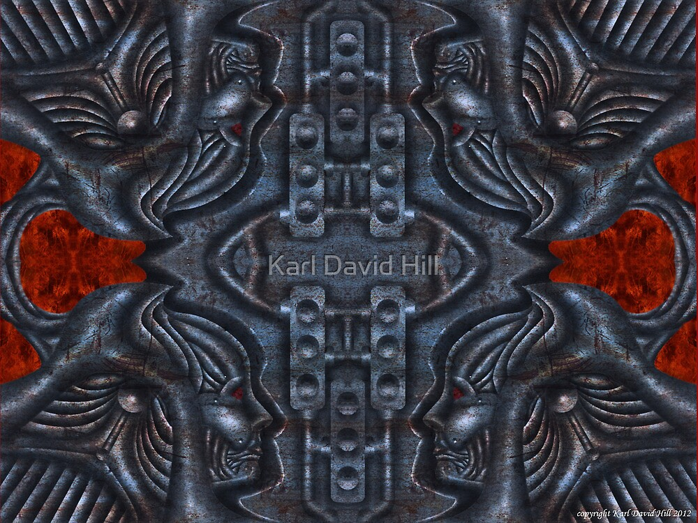 The Infernal Machine (1 0f 4) by Karl David Hill