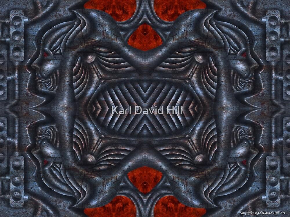 The Infernal Machine (4 0f 4) by Karl David Hill