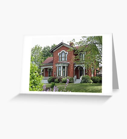 Stately Estate Greeting Card