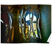 Glass Abstract ... Poster