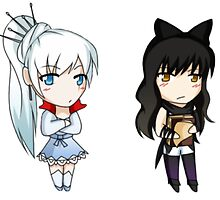 RWBY Chibis by houndtails