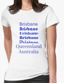 Brisbane, Queensland, Australia Womens Fitted T-Shirt