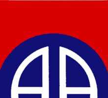 82nd Airborne Division - The All Americans Insignia Sticker