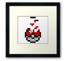 Pokeball Tetris Framed Print