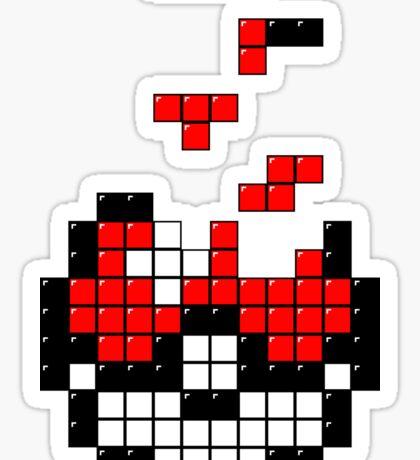 Pokeball Tetris Sticker