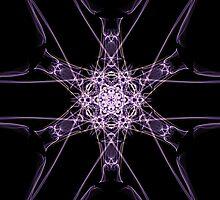 purple star on Black by HHarrabi