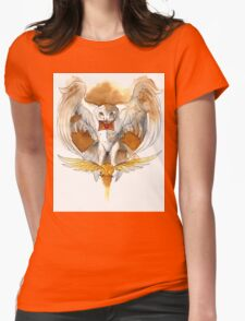 Harry Potter Hedwig Owl Womens Fitted T-Shirt