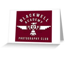 Life Is Strange - Blackwell Photography Club Greeting Card