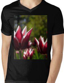 Tulips 7 Mens V-Neck T-Shirt