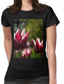 Tulips 7 Womens Fitted T-Shirt