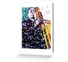 charlie parker ll Greeting Card