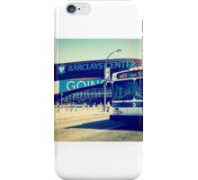 Brooklyn Barclays Bus iPhone Case/Skin