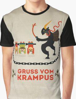 Gruss vom Krampus Graphic T-Shirt