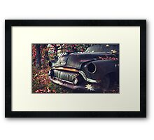 that car I've been wanting to shoot Framed Print