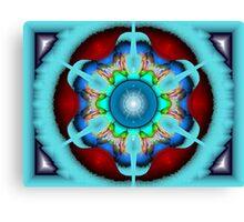 eBlur #5: Do You Dig Kaleidoscopes? (UF0776) Canvas Print
