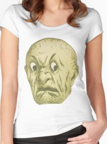 Ugly guy Women's Fitted Scoop T-Shirt