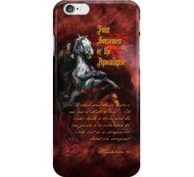 Four Horsemen of the Apocalypse iPhone Case/Skin