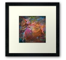 Cosmic Mushrooms 1 Framed Print
