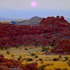 Sunset in Damaraland by supergold