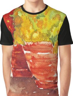 Marigolds and Geraniums Graphic T-Shirt