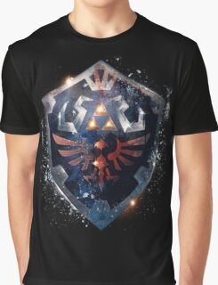 Shield the Legend Of Zelda Graphic T-Shirt
