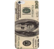 Hundred dollar bill iPhone case 4/4s iPhone Case/Skin